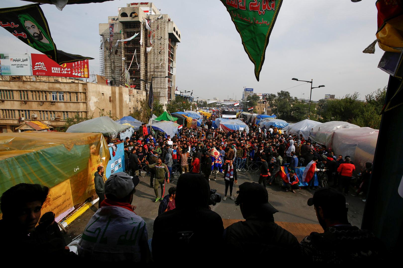 ساحات الاحتجاج في العراق ترفض ترشيح محمد السوداني لرئاسة حكومة جديدة