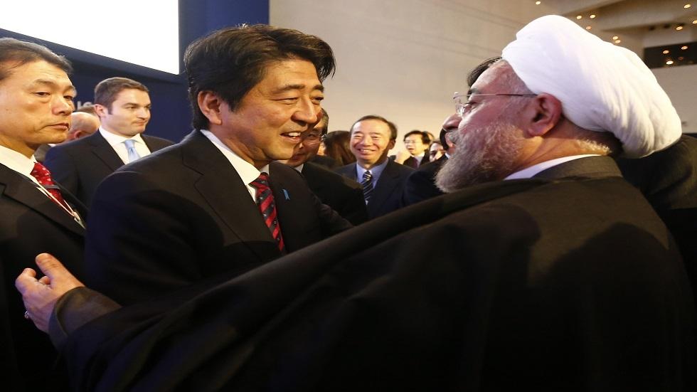 طهران: نأمل أن تؤدي زيارة الرئيس روحاني لليابان إلى خفض التوتر بين طهران وواشنطن