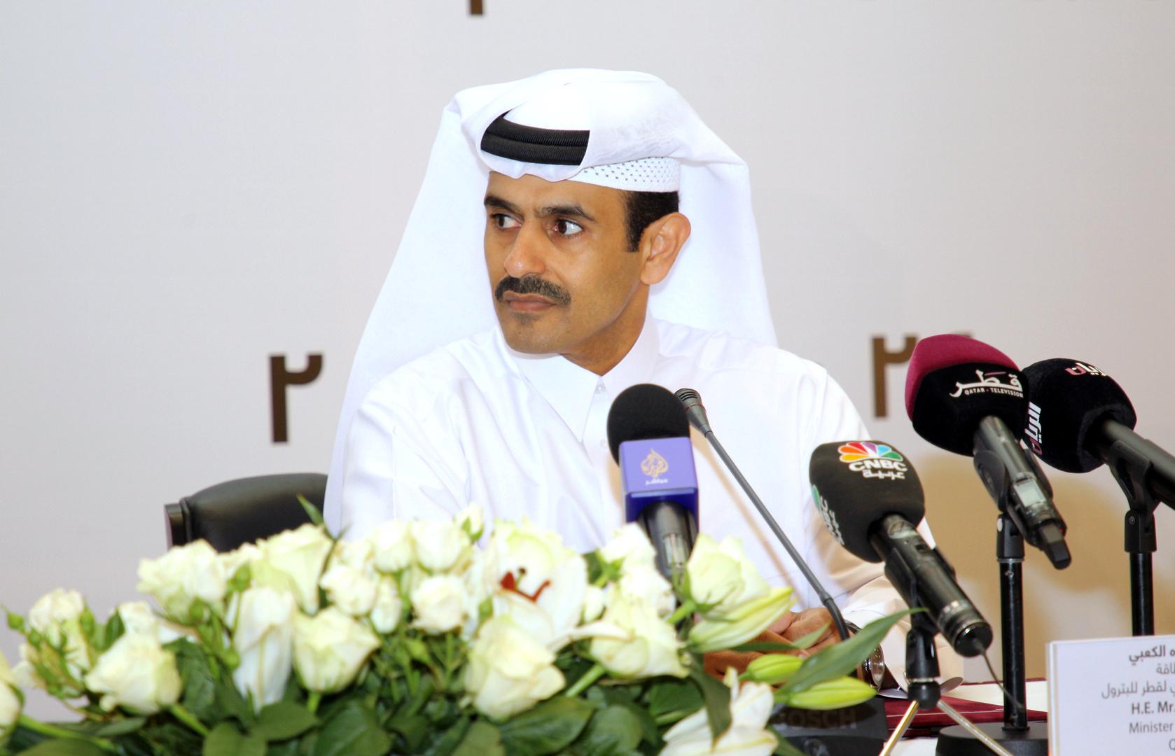 وزير الدولة القطري لشؤون الطاقة سعد بن شريدة الكعبي