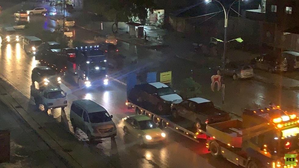 مراسلنا: قافلة تابعة للتحالف الدولي دخلت القامشلي (صور + فيديو)