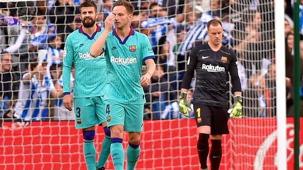 بالفيديو.. برشلونة يتعثر أمام سوسيداد قبيل مباراة الكلاسيكو