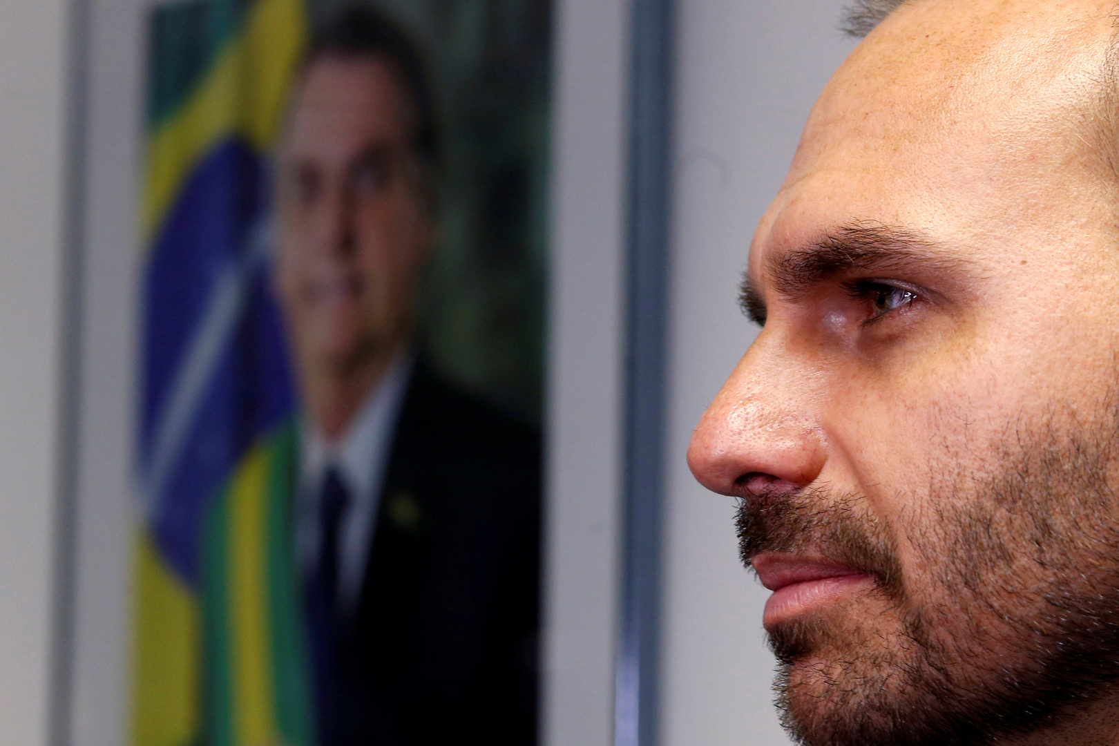 نجل بولسونارو: نقل سفارة البرازيل إلى القدس سيكون خطوة طبيعية