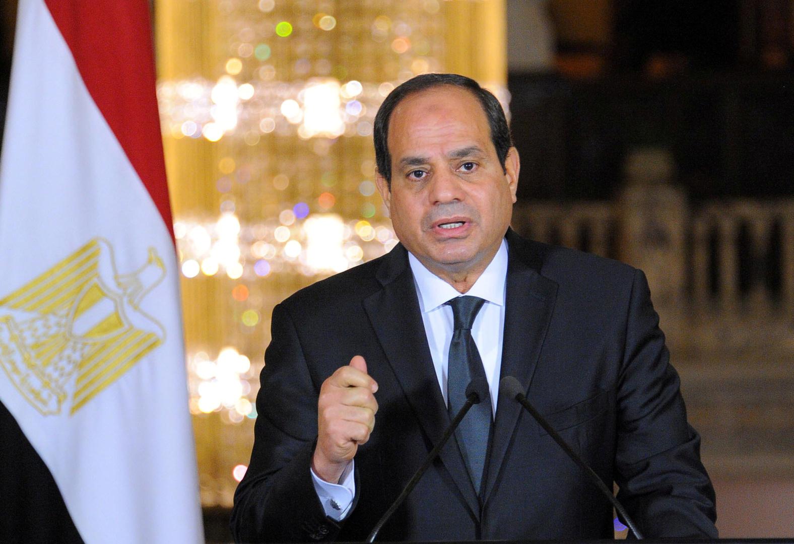 السيسي يرد على تصريح رئيس وزراء إثيوبيا حول تجنيد مليون شخص لحرب محتملة مع مصر