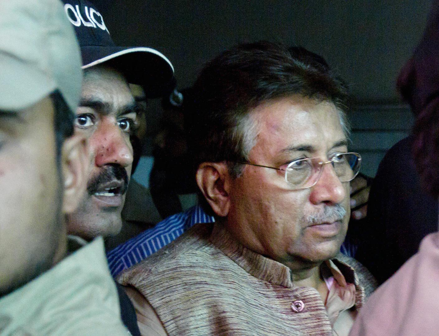 الحكم بالإعدام على الرئيس الباكستاني السابق برويز مشرف