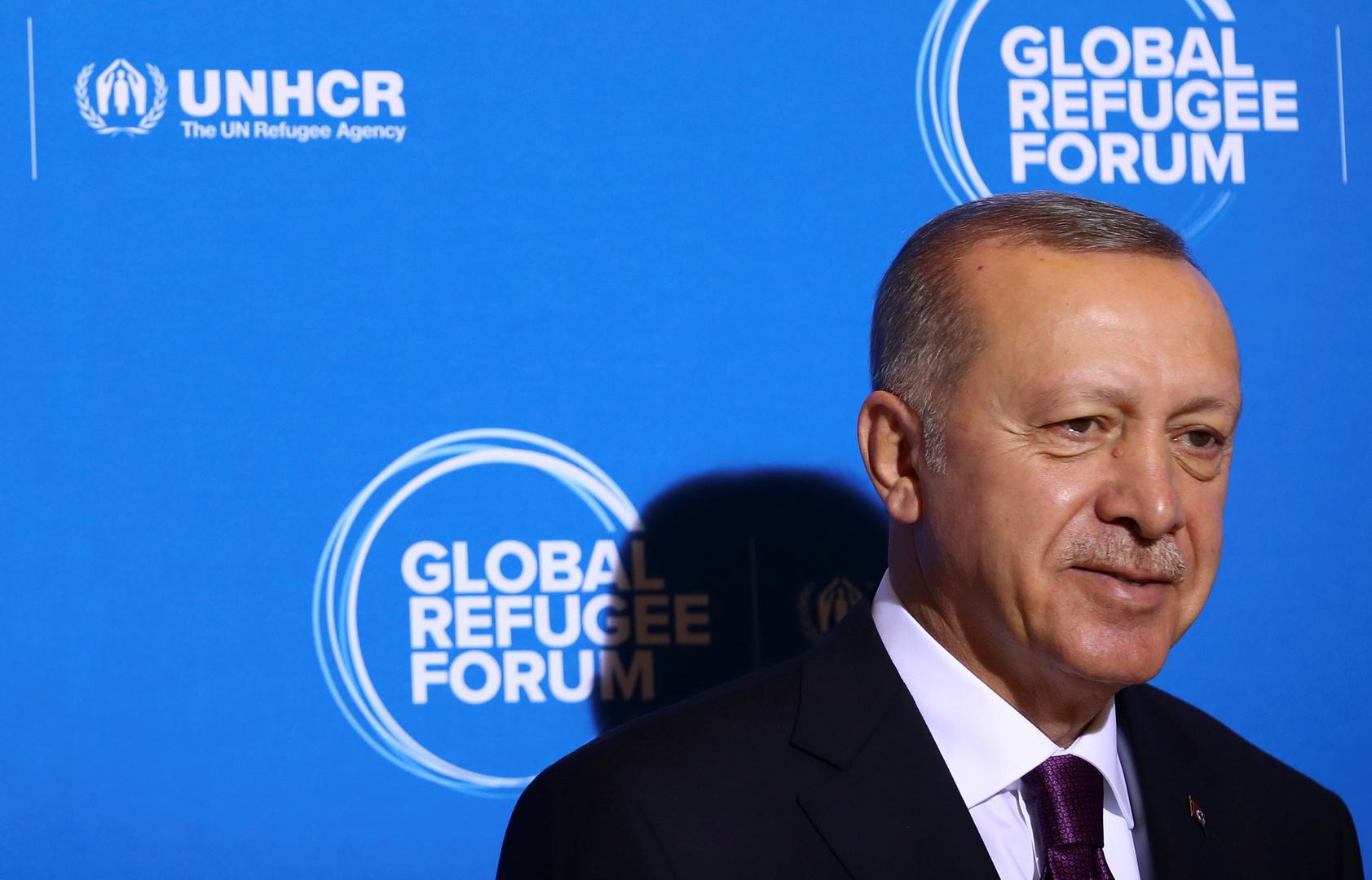 أردوغان يشارك في المنتدى العالمي للاجئين في جنيف