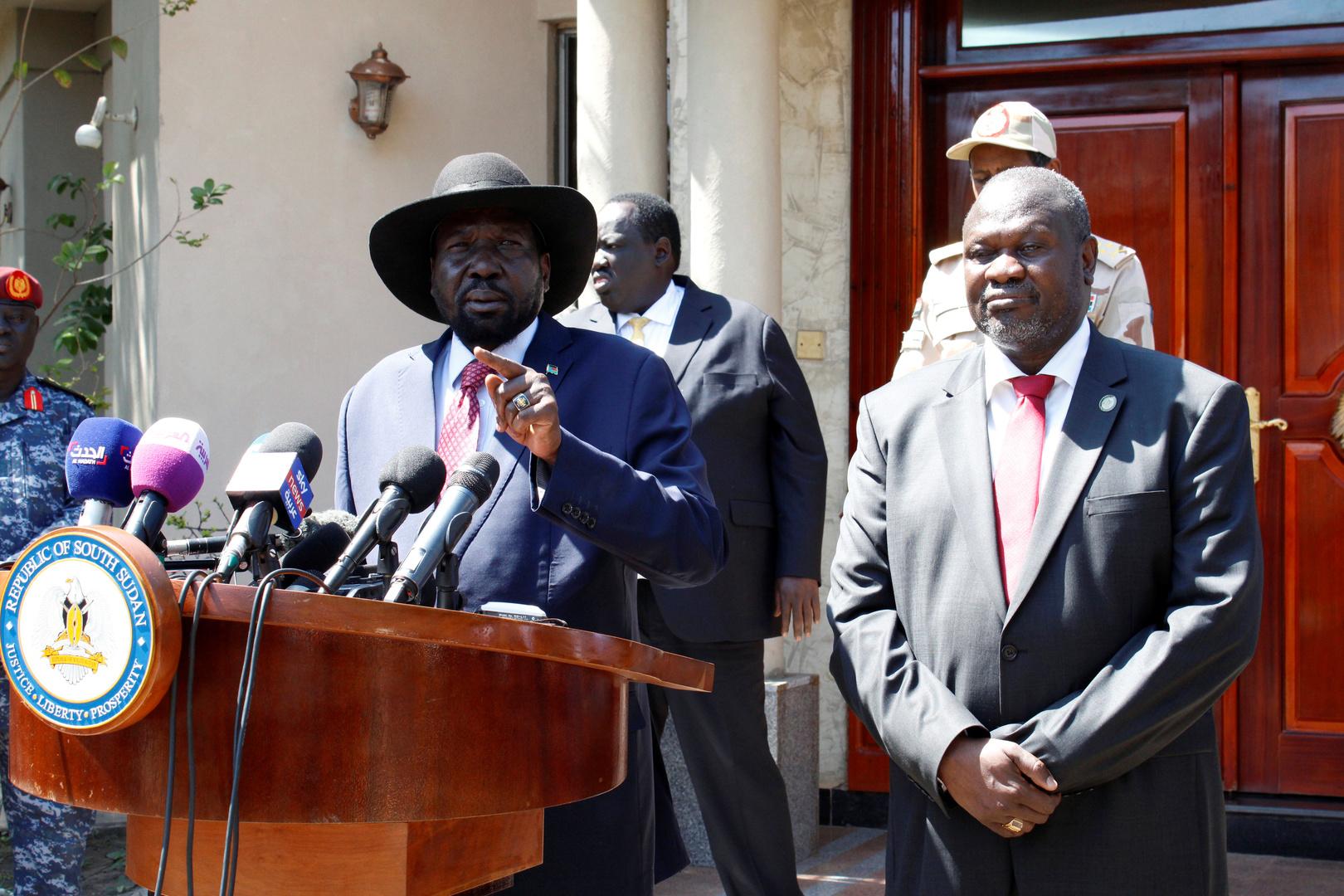 رئيس جنوب السودان، سلفا كير، اليوم الثلاثاء، أنه والزعيم السابق للتمرد المسلح، رياك مشار