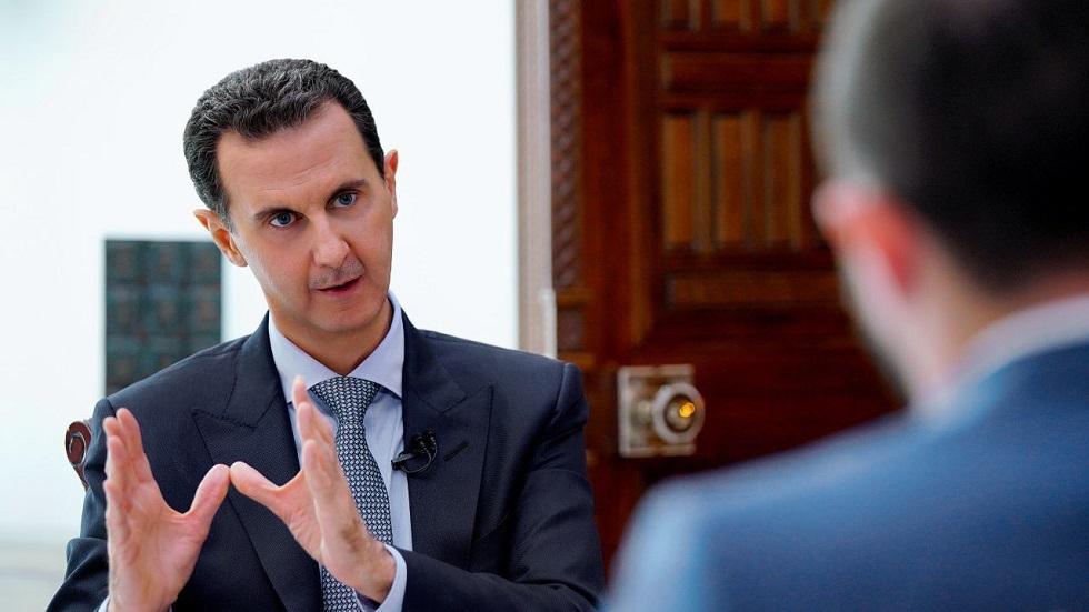 الرئيس السوري/ بشار الأسد