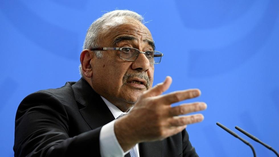 عبد المهدي: حكومتي ستستمر لحين تشكيل حكومة جديدة
