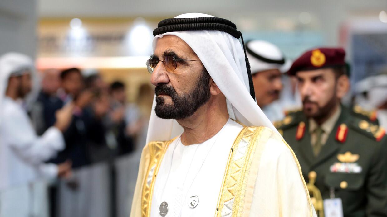 نائب رئيس الإمارات رئيس مجلس الوزراء حاكم دبي، محمد بن راشد آل مكتوم