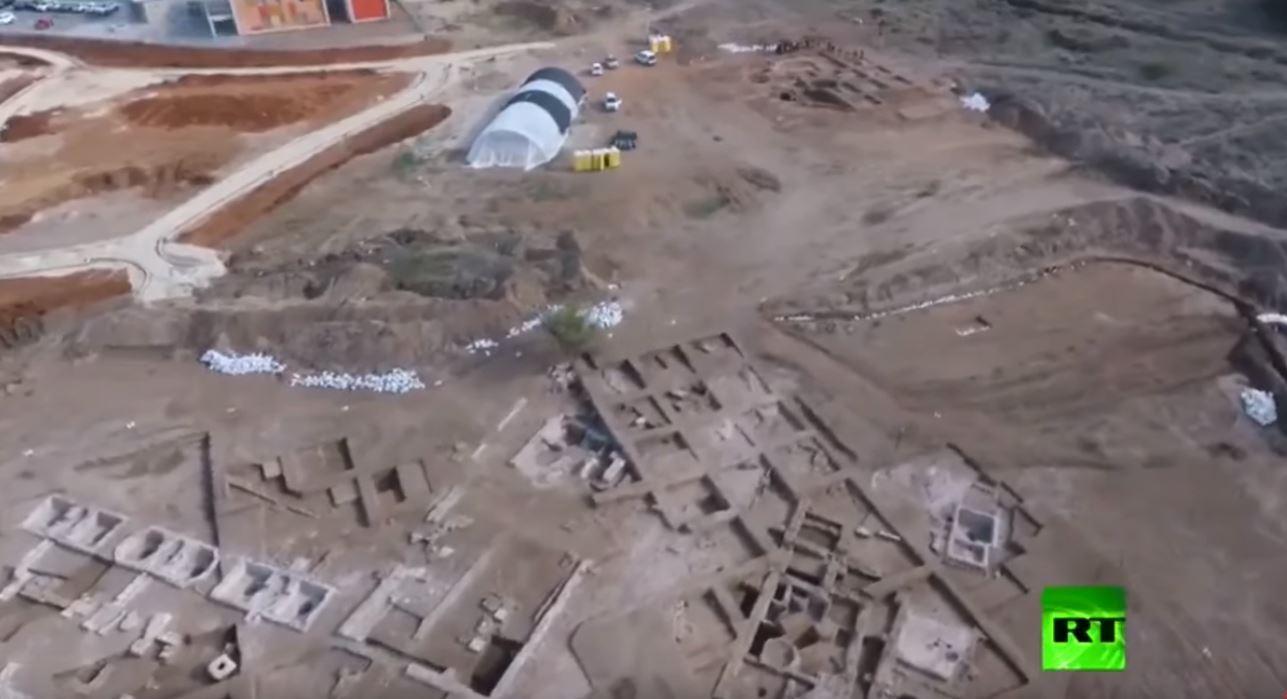اكتشاف منطقة صناعية أثرية في عسقلان