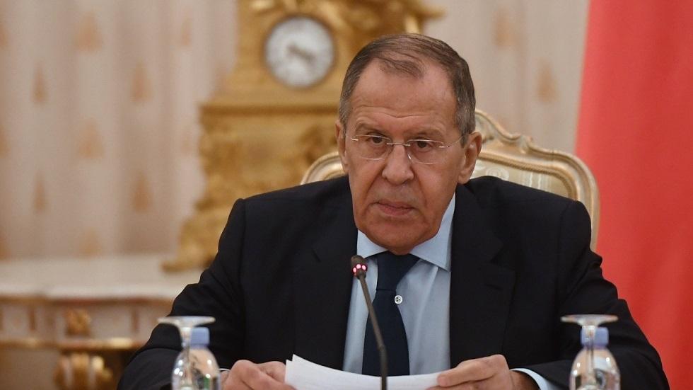 وزير الخارجية الروسي/ سيرغي لافروف