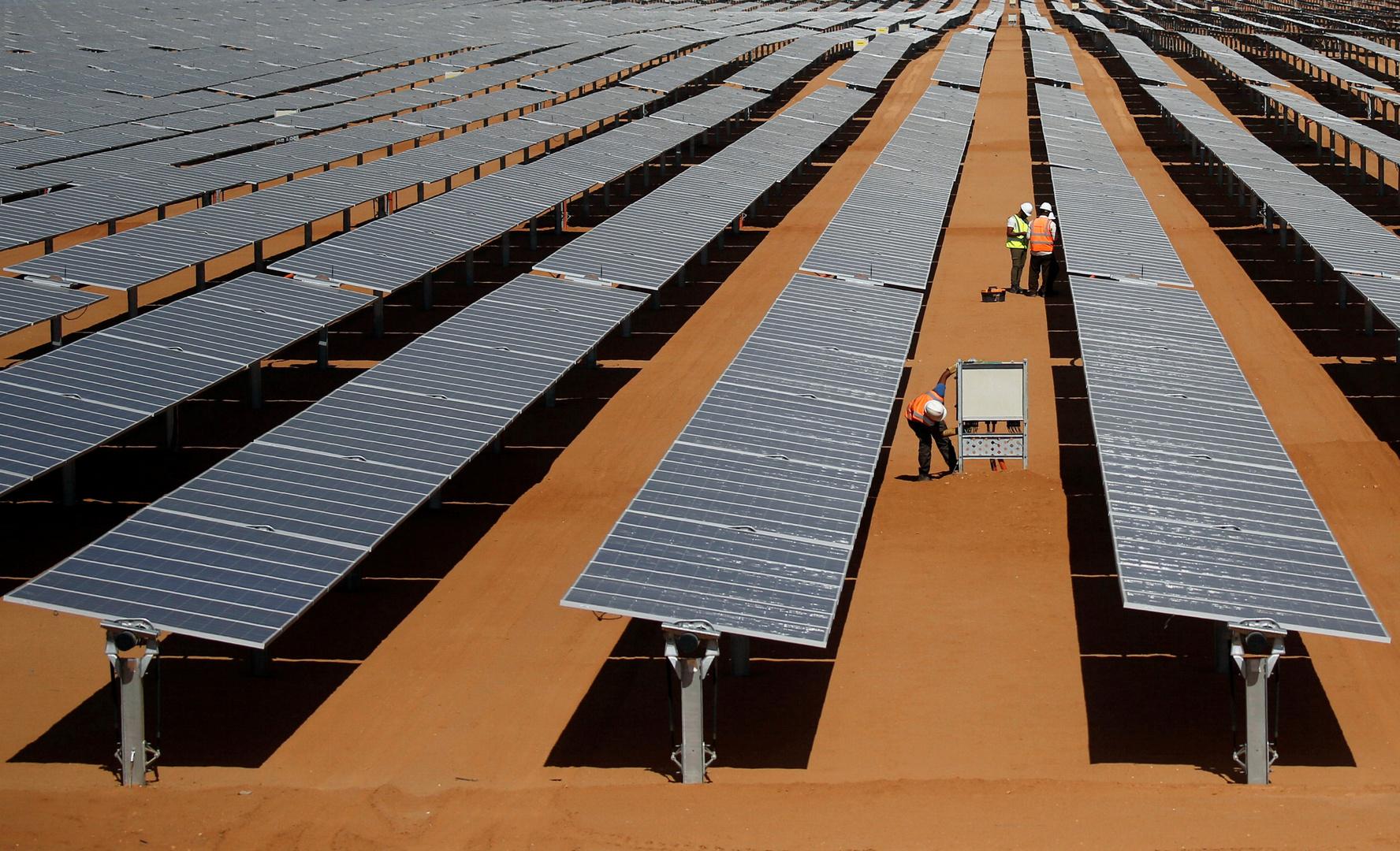 محطة طاقة شمسية