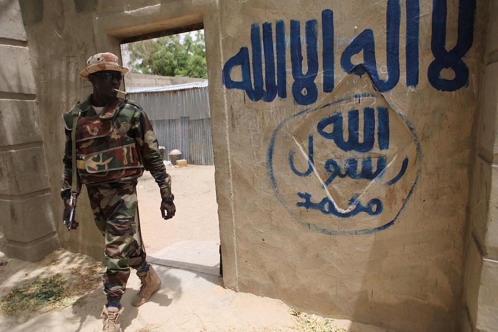 من أمام بيت أحد عناصر بوكو حرام في نيجيريا -أرشيف-