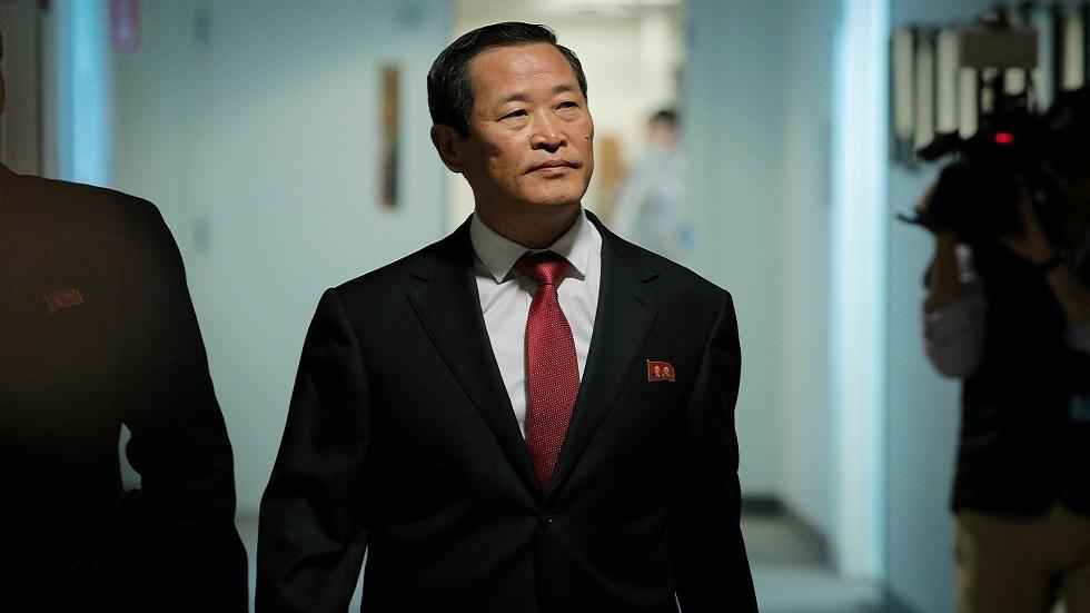 كيم سونغ، سفير كوريا الشمالية لدى الأمم المتحدة (صورة أرشيفية)