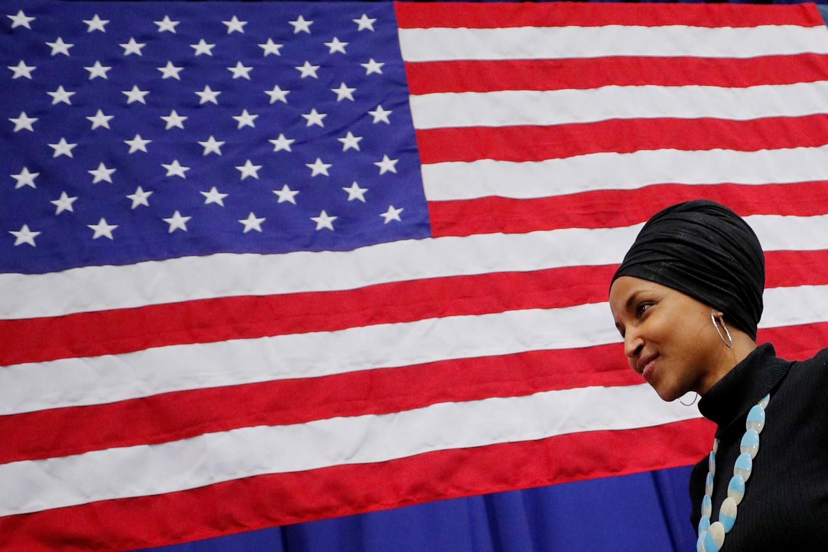 إلهان عمر تبعث برسالة حول تركيا إلى مبعوث واشنطن الخاص بسوريا