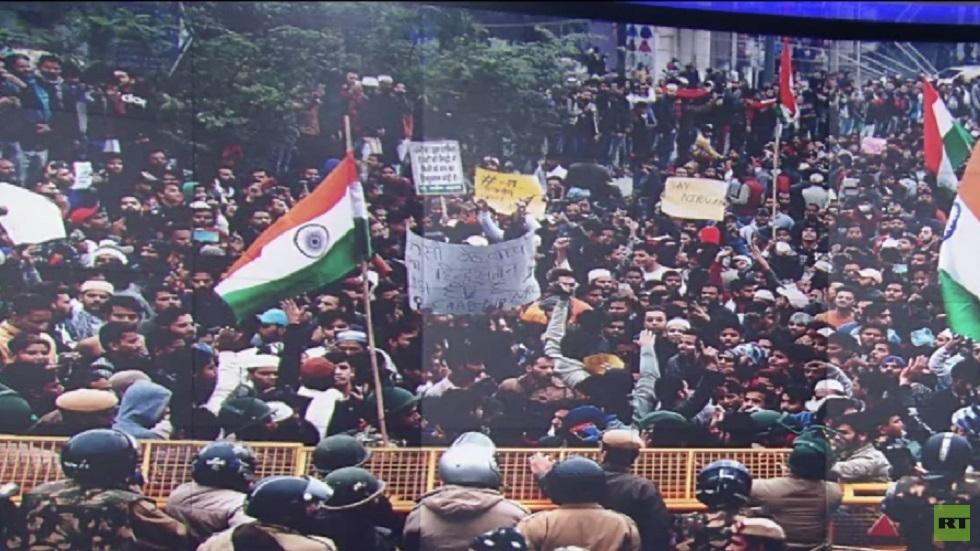 تواصل الاحتجاجات ضد قانون الجنسية في الهند