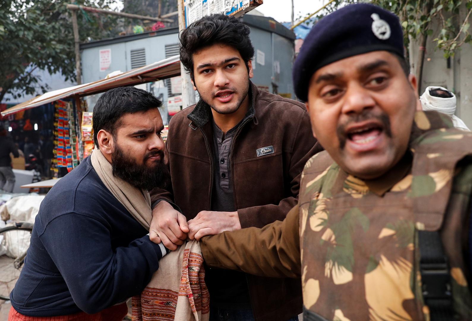 تظاهرات الهند ضد قانون الجنسية