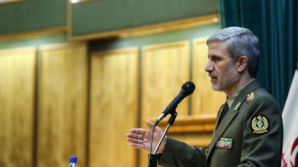 وزير الدفاع الإيراني أمير حاتمي - أرشيف