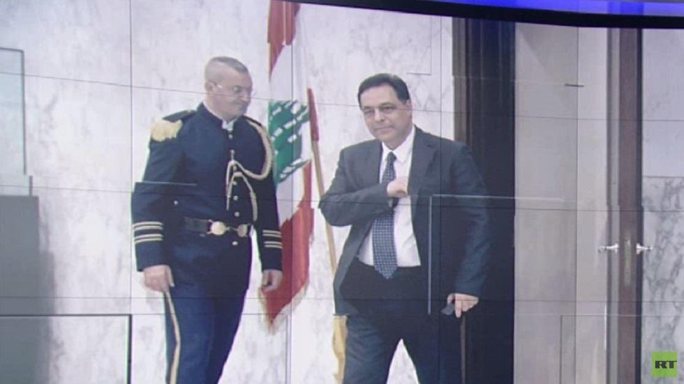 حسان دياب رئيسا مكلفا للحكومة اللبنانية