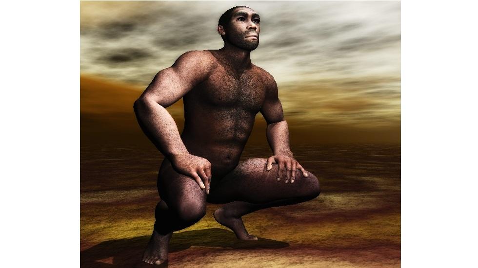 الإنسان المنتصب القامة