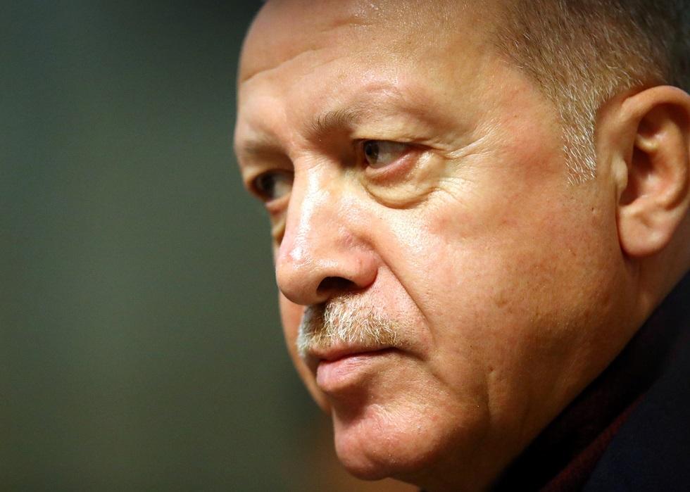 أردوغان: لا يمكننا أن نقف مكتوفي الأيدي حيال مرتزقة