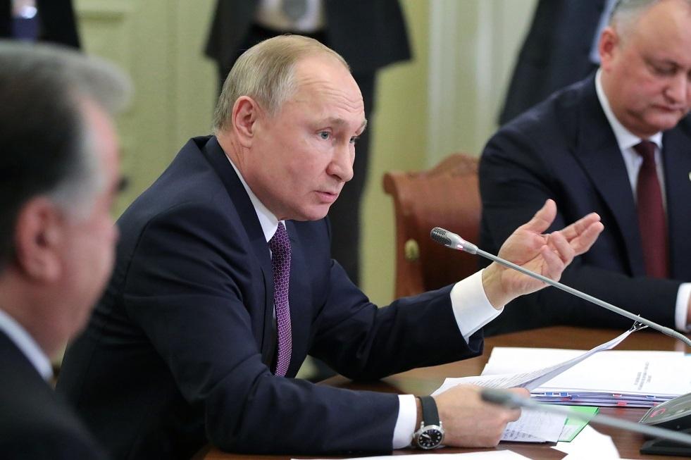 بوتين يطلع قادة بلدان الرابطة على وثائق تاريخية هامة رفعت عنها السرية