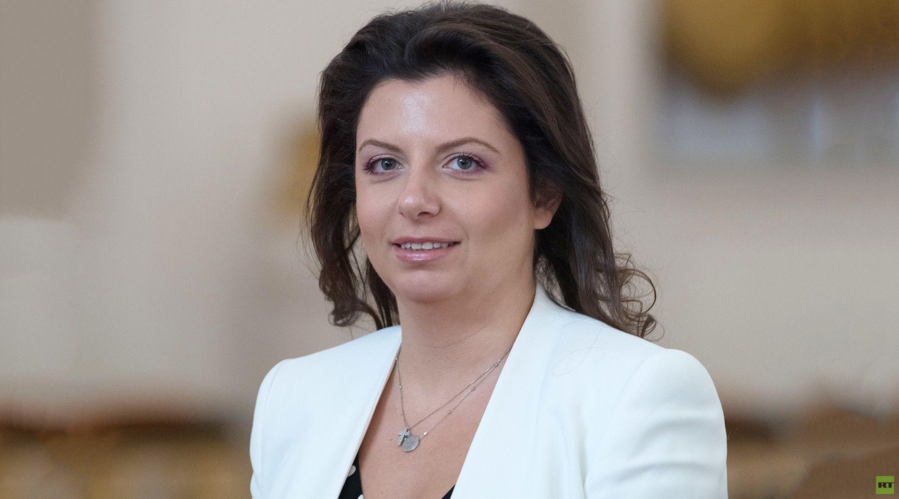 مارغاريتا سيمونيان، رئيسة تحرير شبكة قنوات RT