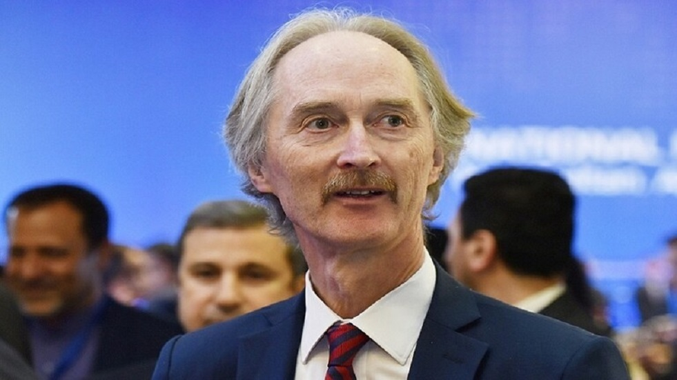 بيدرسن: لا معنى لاجتماع اللجنة الدستورية السورية المصغرة دون جدول أعمال