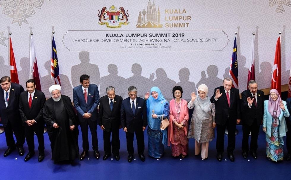المشاركون في القمة الإسلامية بماليزيا