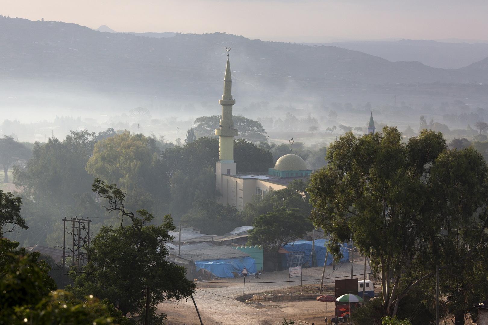 مسجد في مدينة هرر شرقي إثيوبيا