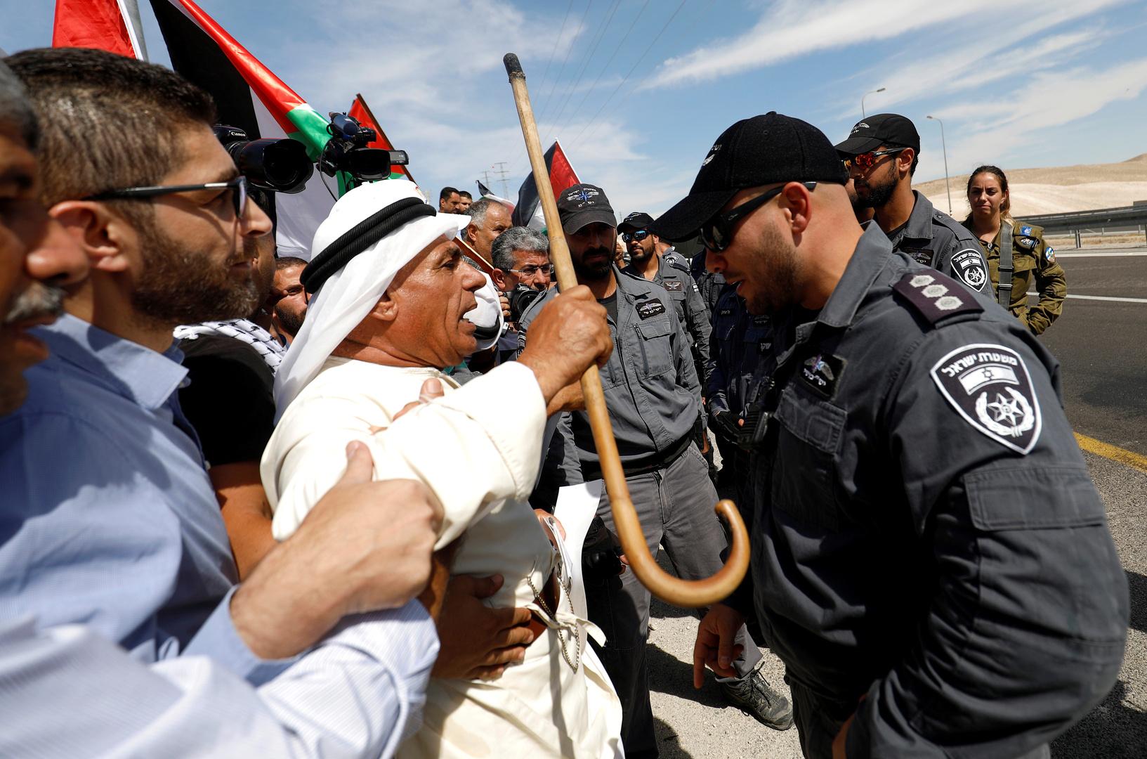 إسرائيل: نخشى من أن يصبح هدم الخان الأحمر