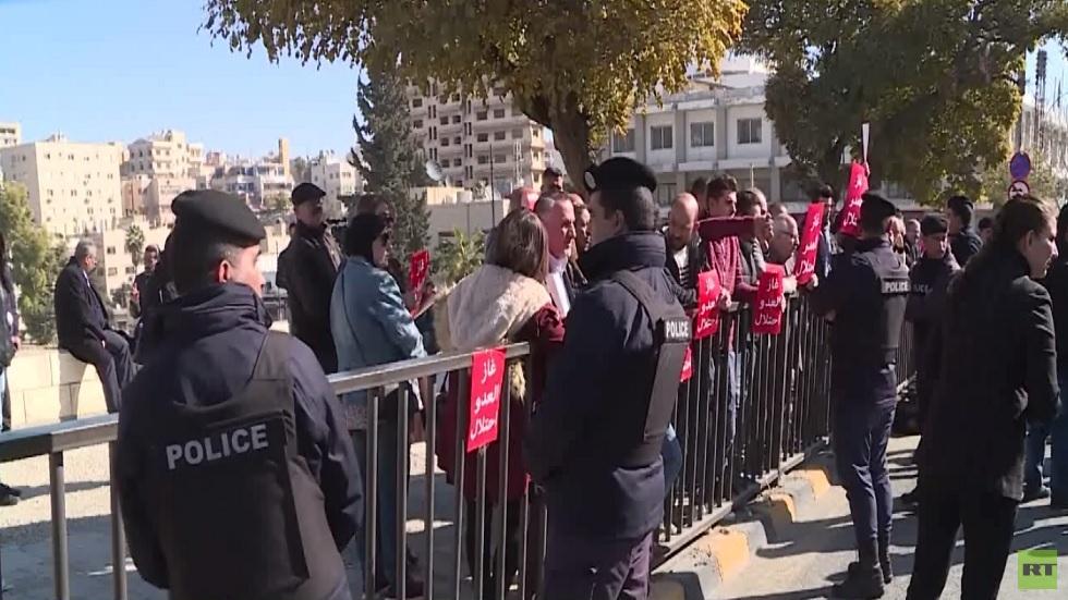 رفض شعبي أردني لاتفاقية الغاز مع إسرائيل