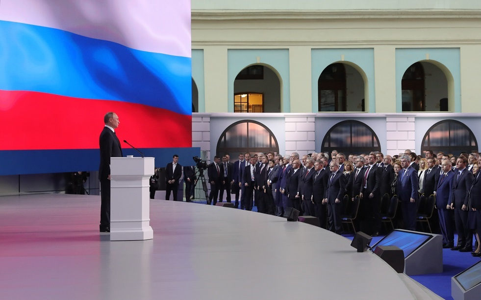 بوتين يتوجه برسالته السنوية للجمعية الفدرالية قبل موعدها