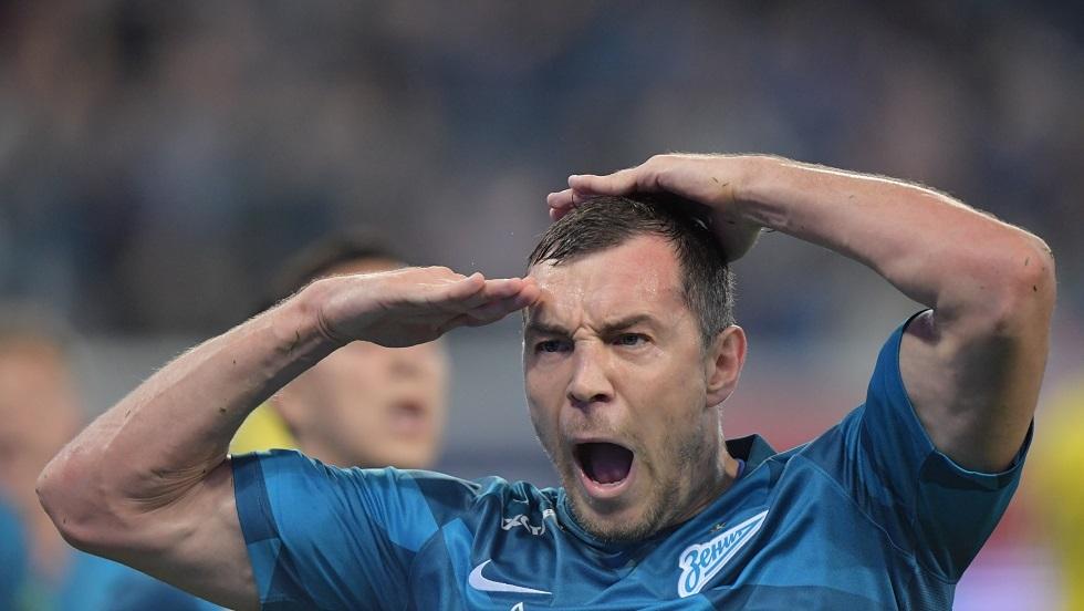 دزيوبا ينال جائزة أفضل لاعب في روسيا للمرة الثانية تواليا
