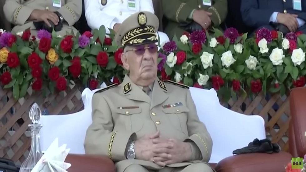حداد بالجزائر عقب وفاة قايد صالح