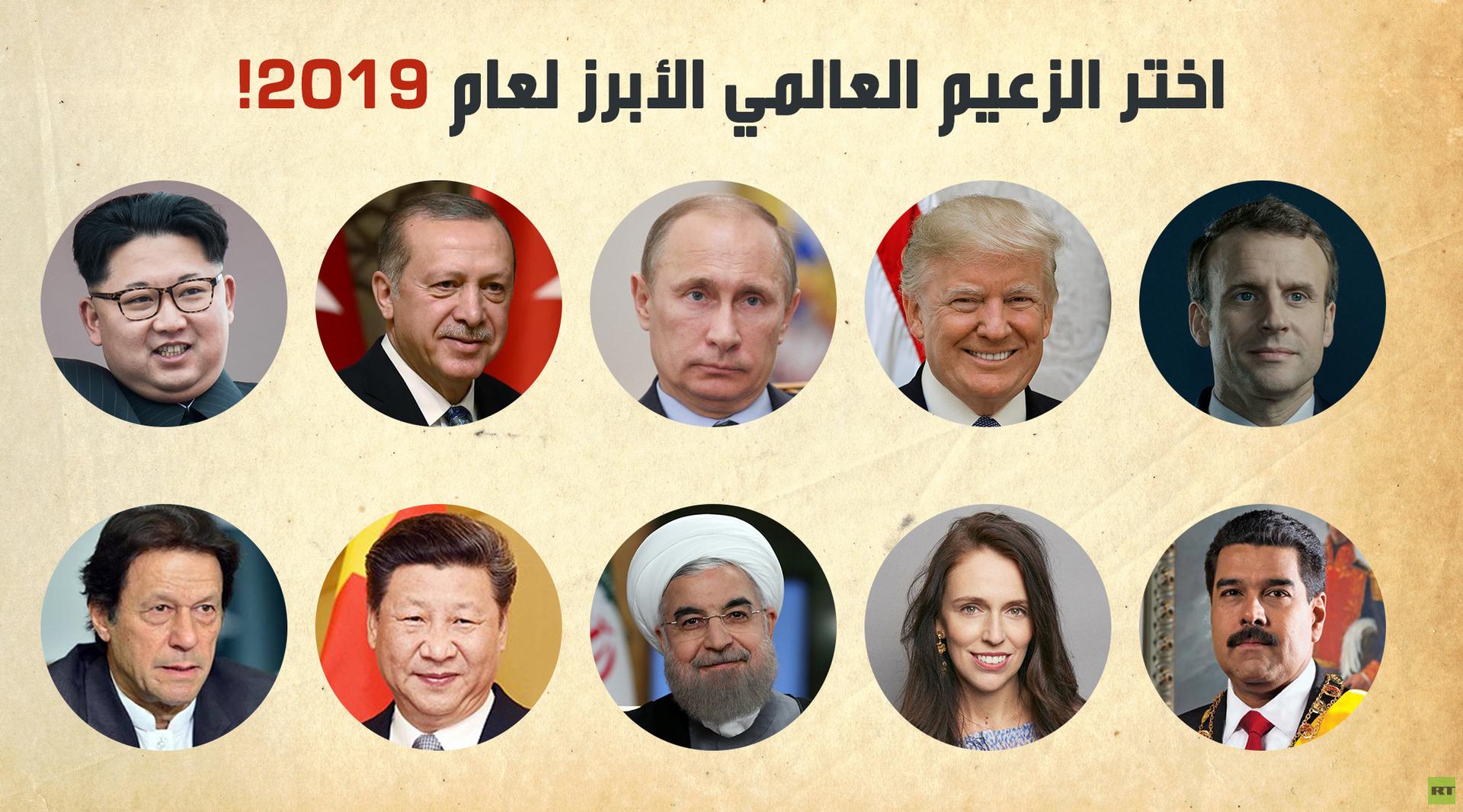 الزعيم العالمي الأبرز للعام 2019