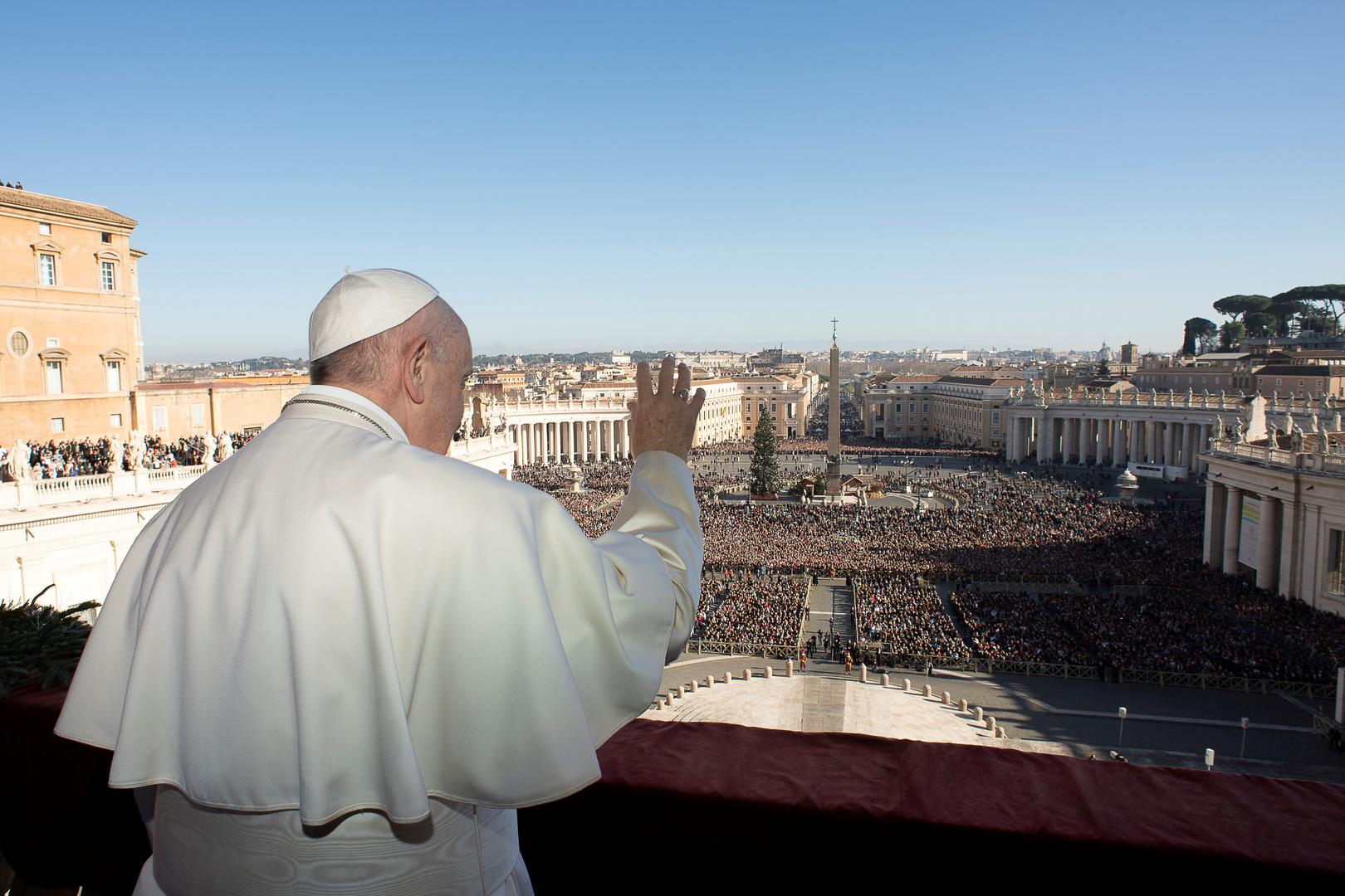 البابا فرنسيس يصلي من أجل سوريا والعراق والشرق الأوسط