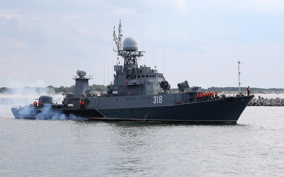 رمايات ناجحة لأسطول البلطيق الروسي