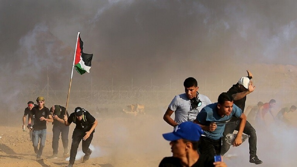 احتجاجات في غزة - أرشيف -