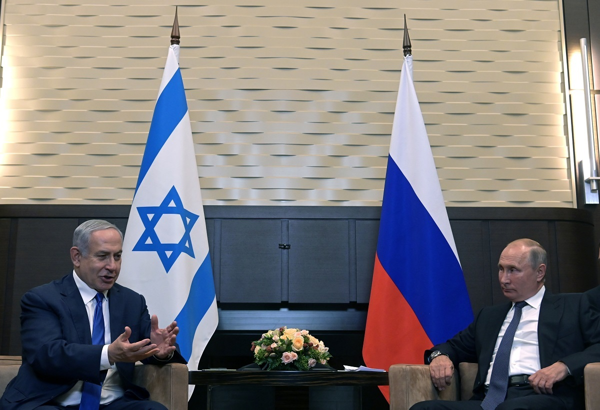 بوتين ونتنياهو يبحثان هاتفيا الملف الإيراني والأوضاع في سوريا