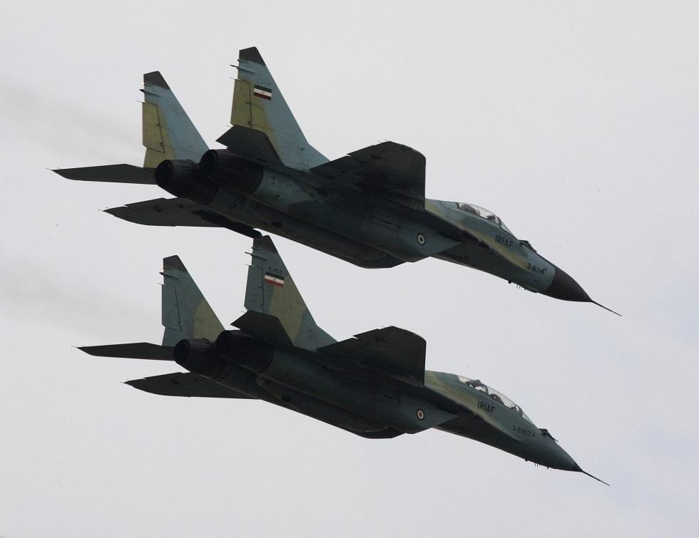 مقاتلتا ميغ 29 إيرانيتان - أرشيف -