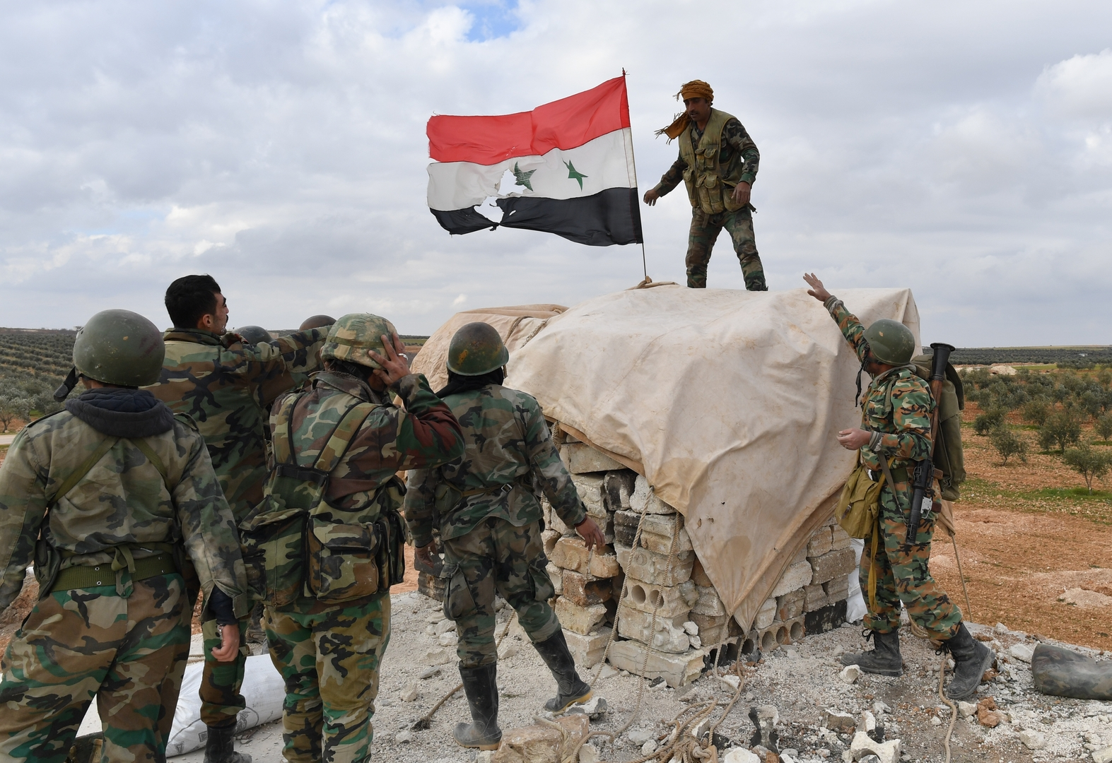 الدفاع الروسية تعلن عن الحدث الأهم في سوريا عام 2019