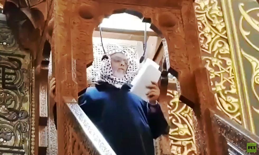 خطيب المسجد الأقصى، يوسف أبو سنينة