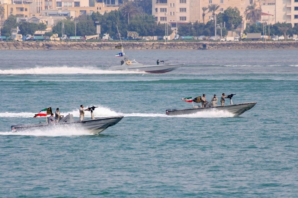 مناورات بحرية إيرانية -أرشيف-
