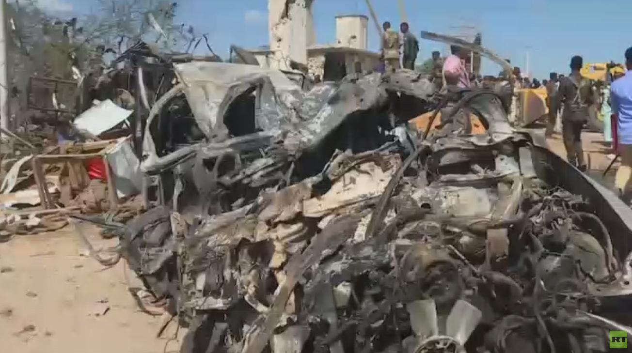 مقتل 90 شخصا بتفجير مفخخة في مقديشو