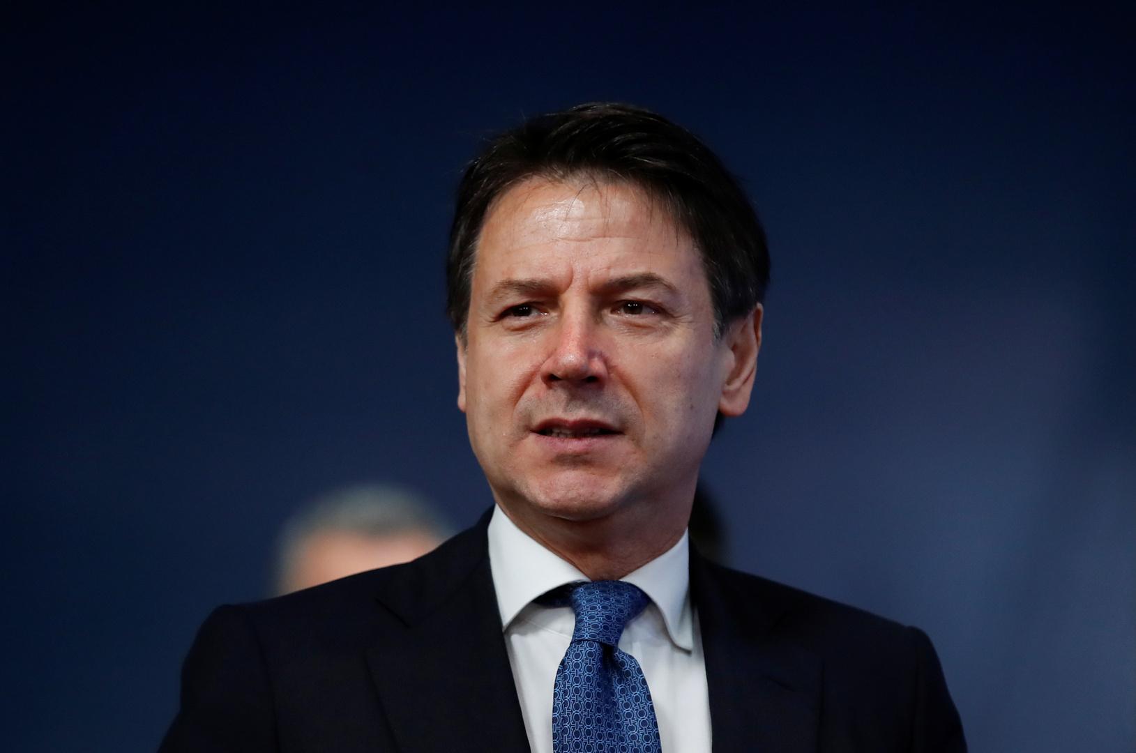 رئيس الوزراء الإيطالي: فرض حظر جوي فوق ليبيا قد يسهم في إيقاف القتال هناك