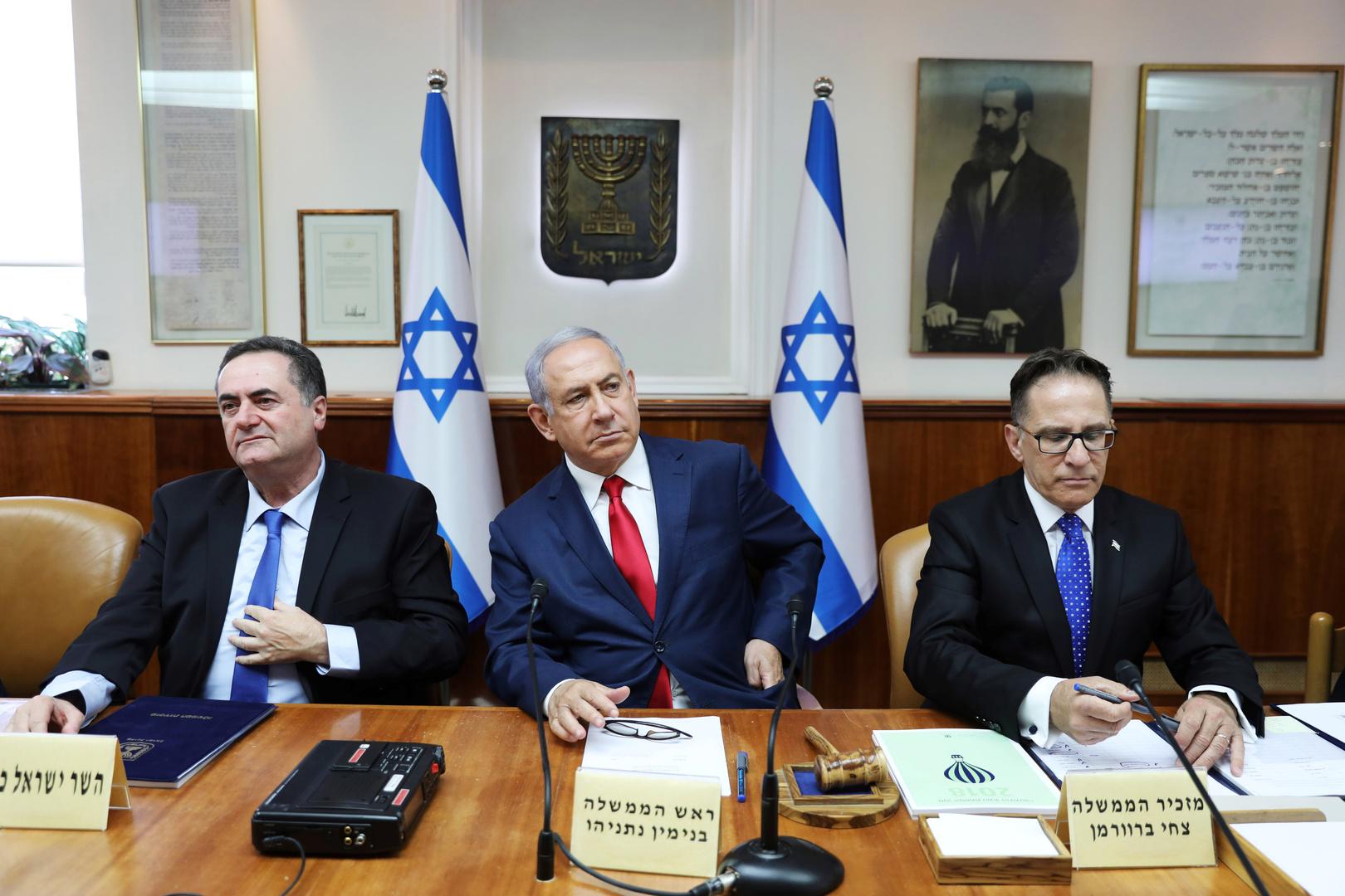 الكابينت الإسرائيلي يناقش تسوية طويلة الأمد مع
