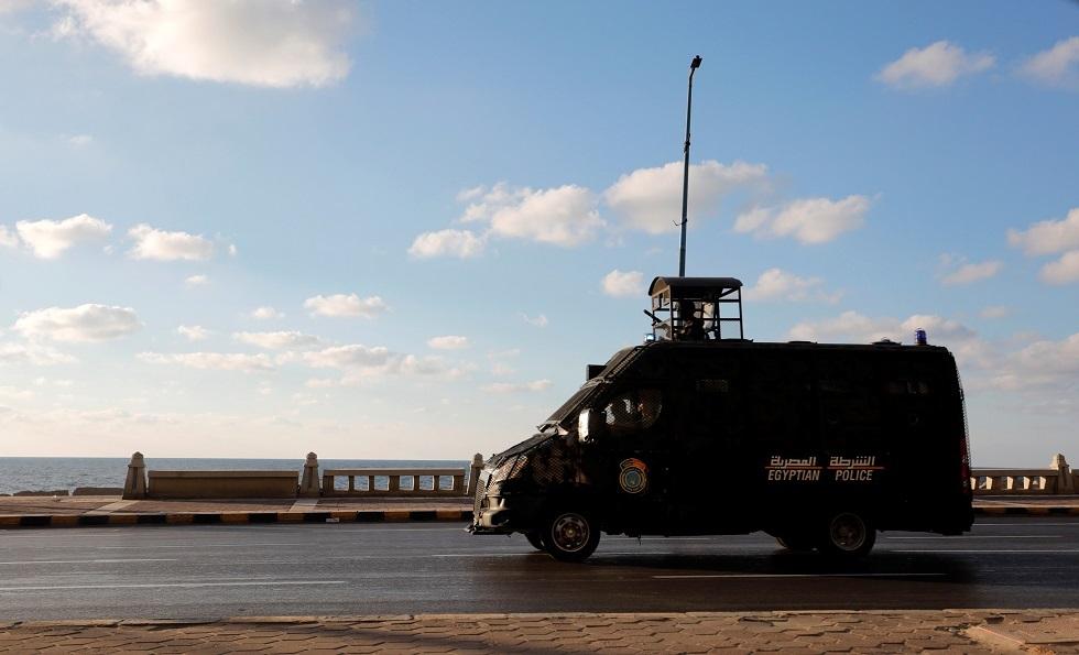 عربة شرطة مصرية