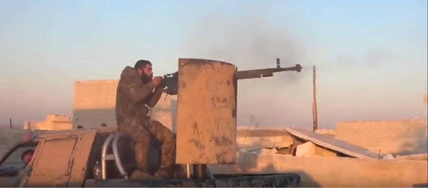 معارك بين الجيش السوري ومسلحي