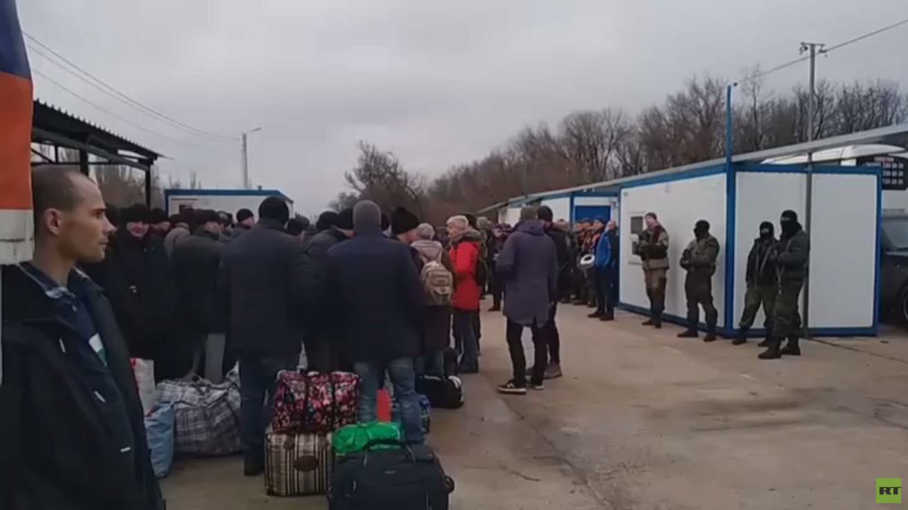 انتهاء عملية تبادل أسرى بين كييف ودونباس